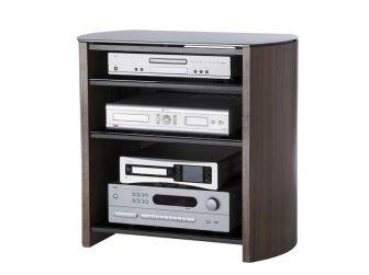 Walnut Wooden Hifi / Tv Cabinet FW750/4-W/B
