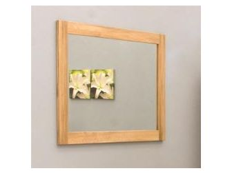 Oak Wall Mirror COR16B