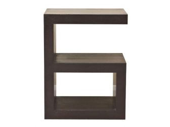 G Shape Lamp Table With Magazine Rack I2DW01D