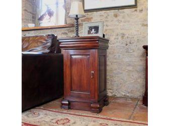 Mahogany Lamp Stand Cupboard IMR10B