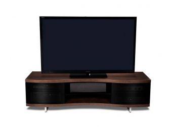 Ola Curved Chocolate Walnut Tv Cabinet OLA-8137-CW