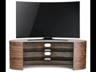 Tom Schneider Elliptical 1400 Walnut TV Stand