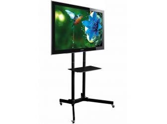 Black Exhibition Tv Stand EX4011B