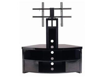 Corner Black Cantilever Tv Cabinet IMP900-GB-B