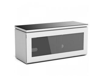 White 1100mm Tv Cabinet REF1100-GW