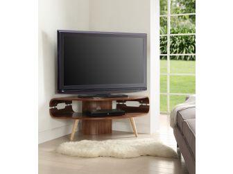 Walnut Corner TV Stand JF701