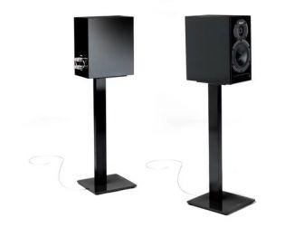 All Black Speaker Stands ESSE-SPEAKER-BK
