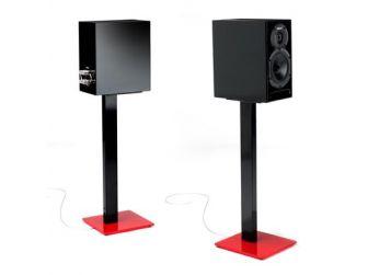 Red & Black Speaker Stands ESSE-SPEAKER