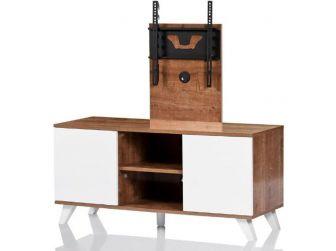 UKCF NEW Madrid Oak & White TV Stand