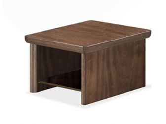 Compact Coffee Table Real Wood Veneer LAT-COF-KQ93D