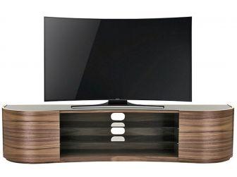 Tom Schneider Undulate 2000 Walnut TV Stand