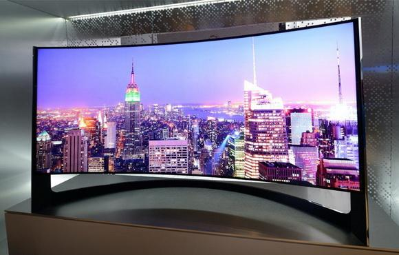 Options for Displaying a Curved TV