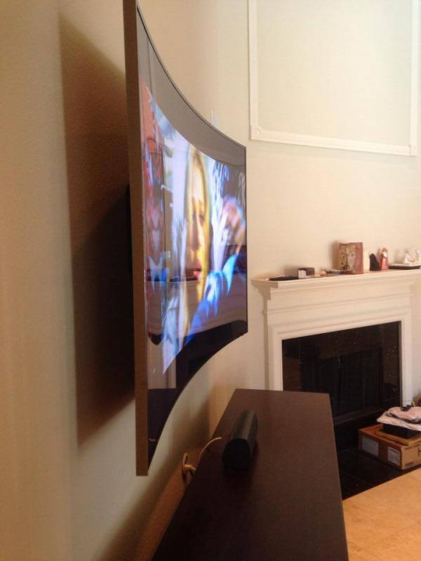 The Best Way to Display Your New Curved TV