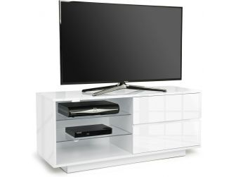 Gloss White TV Cabinet Gallus