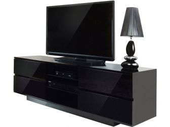 Gloss Black TV Cabinet Avitus