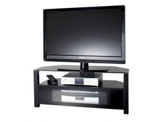 All Black Tv Stand ABRD1100-BLK
