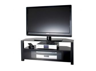 All Black Tv Stand ABRD800-BLK
