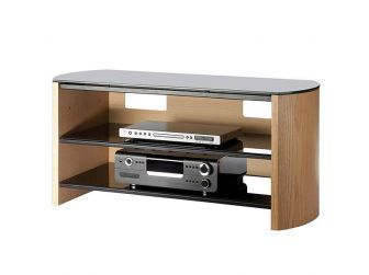 Light Oak Wooden Tv Cabinet FW1100-LO/B