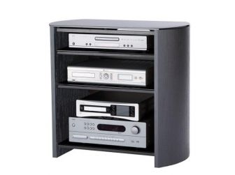 Black Wooden Hifi / Tv Cabinet FW750/4-BV/B