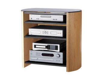 Light Oak Wooden Hifi / Tv Cabinet FW750/4-LO/B