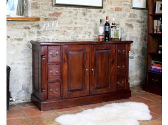 Solid Mahogany Sideboard IMR02A