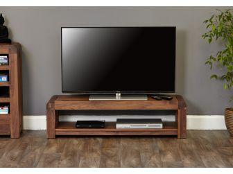 Walnut Low Tv Cabinet CDR09A
