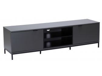 Charcoal TV Cabinet Chaplin 1600