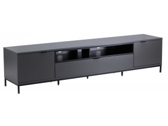 Charcoal TV Cabinet Chaplin 2000
