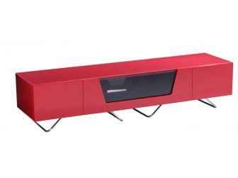 Chromium Red TV Stand Cab 1600