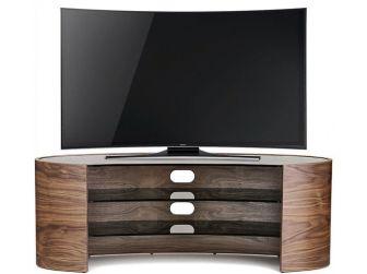 Tom Schneider Elliptical 1250 Walnut TV Stand