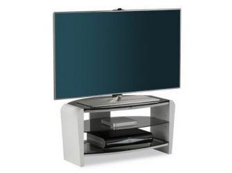 Francium White TV Stand - FRN800-WHT