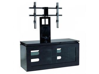 Black Cantilever Tv Cabinet REF1100-GB-B