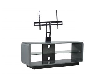 Luna 1200 Grey TV stand With Optional Cantilever Bracket