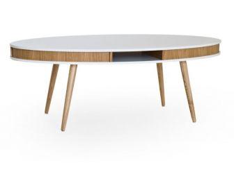 1400mm Wide 60s Style Coffee Table COF-HUGO-140