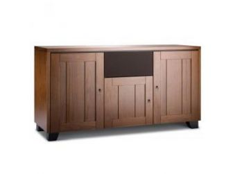 Walnut Wood Tv Cabinet GENEVA-336