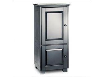 Tv / Hifi Cabinet Black Wood Cabinet HAMPTON-517