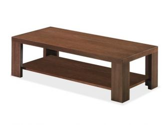 Rectangle Coffee Table With Shelf KAT-COF-KQ5BC