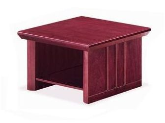 Small Square Mahogany Coffee Table MEG-COF-KQ5CD-M
