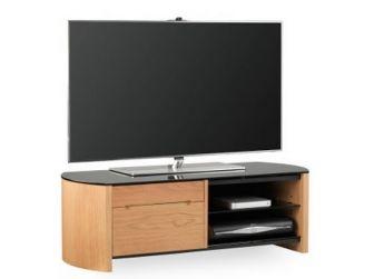 Real Light Oak Wood Veneer TV Cabinet - FW1100CB-LO
