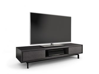 Low Viewing Graphite TV Cabinet - SIGNAL-8323-GR