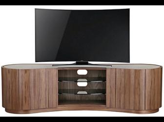 Tom Schneider Swirl Deluxe 1800 Walnut TV Stand